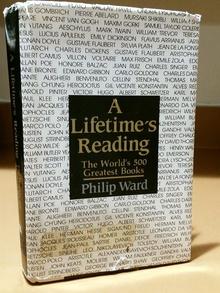 <cite>A Lifetime's Reading</cite> by Philip Ward