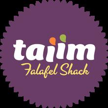 Taiim Falafel Shack logo and website