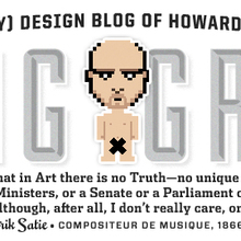 "<cite>Getting Graphic: The (Mostly) Design Blog of Howard</cite><span class=""nbsp"">​</span><cite>Grossman</cite>"