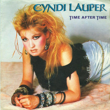 <cite>Time After Time</cite> by Cyndi Lauper (NL/D)