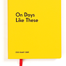 <cite>On Days Like These: Zoo Diary 2009</cite>