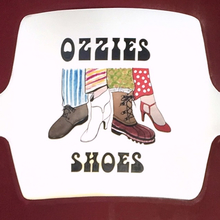 Ozzie's Shoes awning