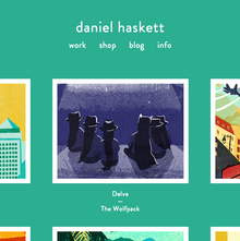Daniel Haskett portfolio website