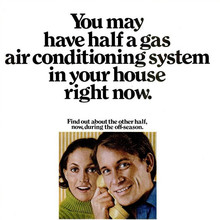 American Gas Association Advert