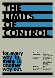 <cite>The Limits Of Control</cite> poster concept