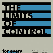 <cite>The Limits Of Control</cite> poster concept