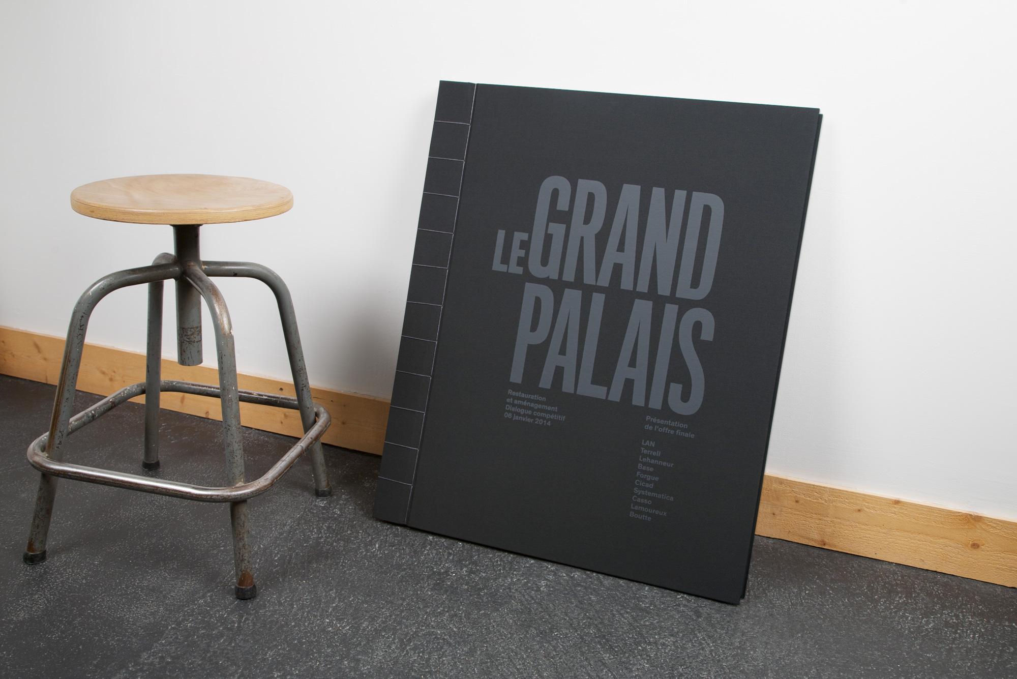 Lan u2013 le grand palais · gallery · font bureau
