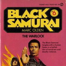 <cite>Black Samurai</cite> book series and movie