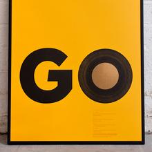 Secret 7″ poster: <cite>Go</cite>