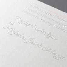 Avelyn & Maggs wedding invitation