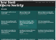 <cite>New York Opera Society</cite> website