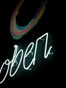 Oben Restaurant identity