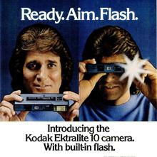 Kodak Ektralite camera ads, 1978–1981