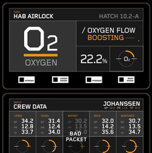 <cite>The Martian</cite> UI graphics