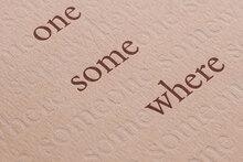 <cite>Someone Somewhere</cite> by Dana Mills