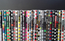 <cite>Wired</cite> magazine spines, Vols. 16–19