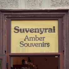 Suvenyrai Amber Souvenirs