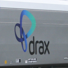 Drax biomass wagon