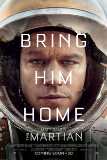 <cite>The Martian</cite> promotional campaign