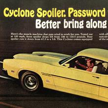 1970 Mercury Cyclone Spoiler ad