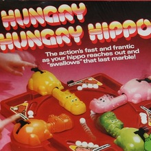 Hungry Hungry Hippos game box