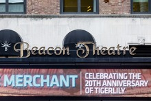 Beacon Theatre sign and logo
