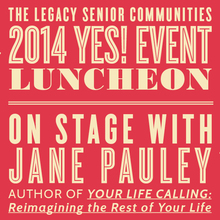 The Yes! Event with Jane Pauley