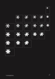21 Asterisks of Christmas