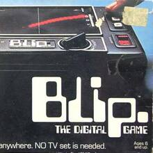 Tomy Blip / World Tennis / Blip-o-mat