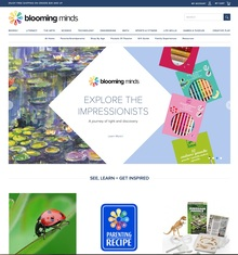 Blooming Minds Website 2015