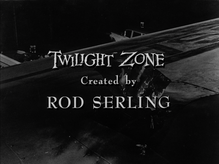 <cite>The Twilight Zone</cite> episode credits and title cards