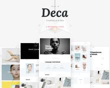 <cite>Deca</cite> WordPress Theme