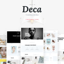 <cite>Deca</cite> WordPress Theme