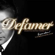 <cite>Defamer</cite> logo