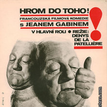 <cite>God's Thunder</cite> movie poster (Czechoslovakia)