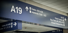 Dallas/Fort Worth International Airport wayfinding