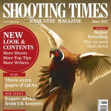 <cite>Shooting Times</cite> redesign