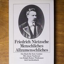<cite>Menschliches, Allzumenschliches</cite> by Nietzsche