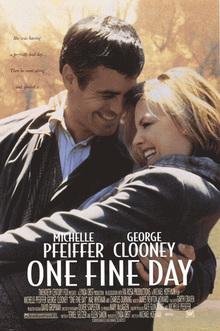 <cite>One Fine Day </cite>movie poster