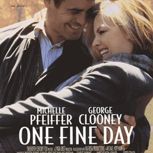 <cite>One Fine Day </cite>movie poster