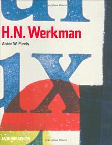 <cite>H.N. Werkman</cite> by Alston W. Purvis