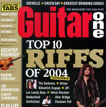 <cite>Guitar One</cite> magazine