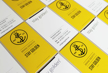 Stay Golden stationery