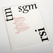 <cite>Typografische Monatsblätter</cite>, Nr. 2, 1987