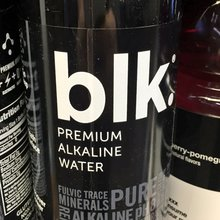 BLK logo, website, packaging