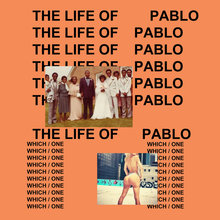 <cite>The Life of Pablo</cite> by Kanye West