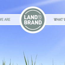 Land to Brand website