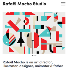 Rafael Macho Studio website