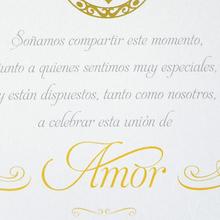 Mariel & Pablo wedding invitations