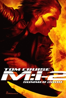 <cite>Mission: Impossible 2</cite> movie poster